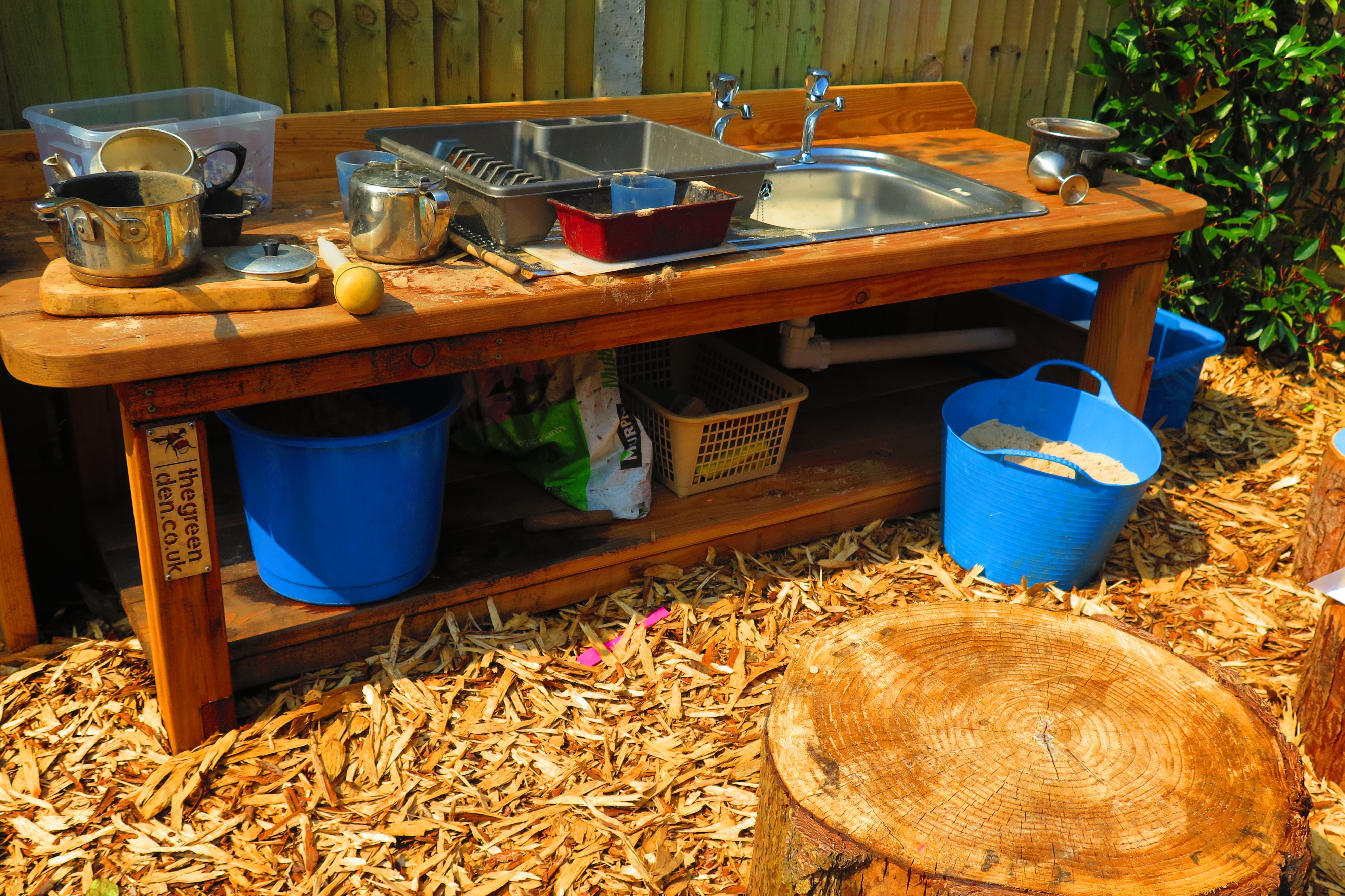 Mud Sink - Green Play Project