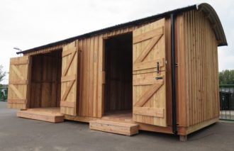 School Shed - Storage Shed - Railway Shed