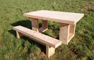 Mini Sand Table and Bench