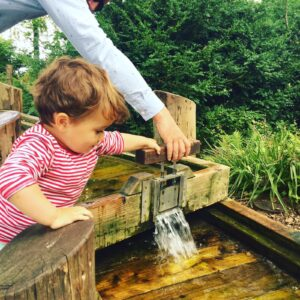 Water Play at National Trust Mottisfont
