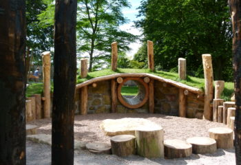Visitor Attraction - play area - Arboretum - Dragon's Lair
