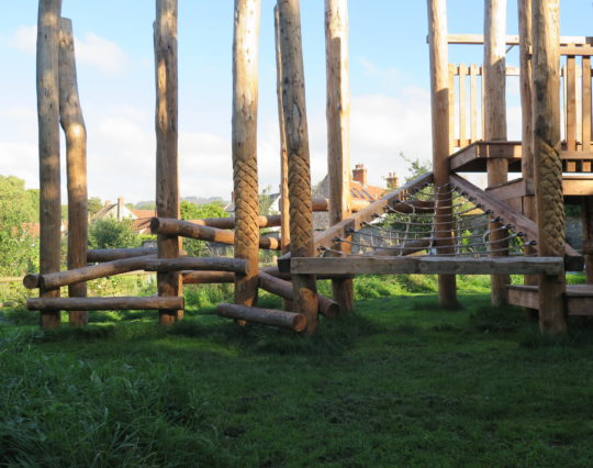 Dragon's Lair - Wells - natural play - visitor attraction - natural play park