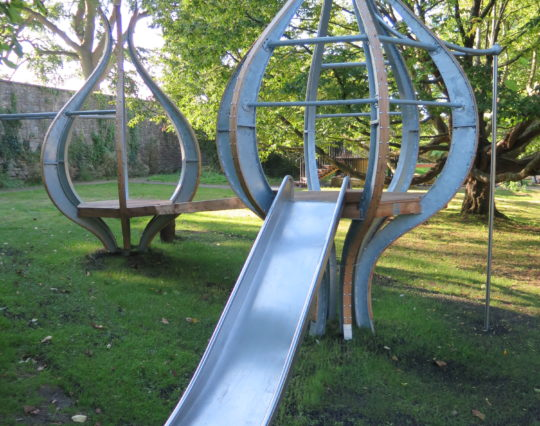 Tree Pod - arboretum play area - play area