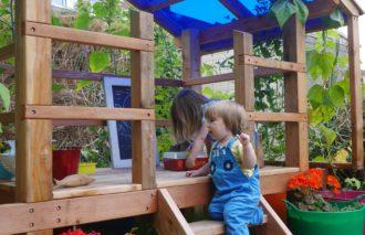 School gardening Den Grow Your Own Jungle Den RHS